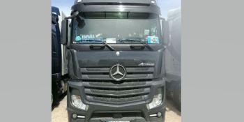 Camionero desparecido, camion Mercedes