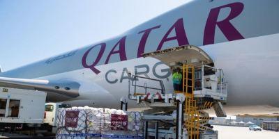 Qatar Airways Cargo dona 1 millón de kilos para organizaciones benéficas.