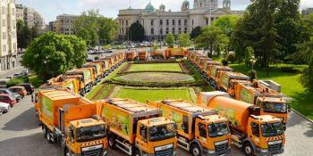 DAF entrega 44 camiones para el mantenimiento urbano de Belgrado