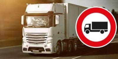 Restricciones a camiones durante el verano en Italia