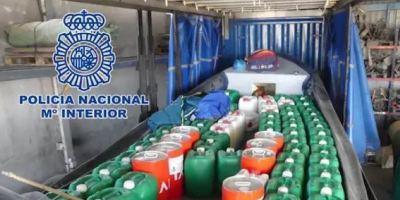 La denuncia del robo de un camión lleva a la detención de traficantes de drogas