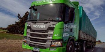 Más empresas argentinas optan por el GNV a través de Scania Demo Trucks