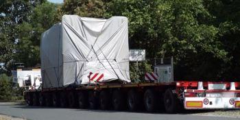 Multa de más de 60.000 euros por transportar 170 toneladas en un remolque sin permiso especial