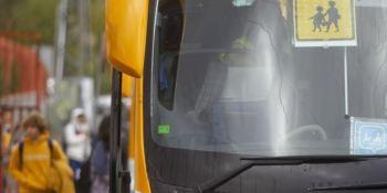 Transporte escolar es el medio de transporte más seguro