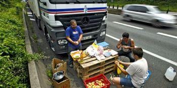 Cómo viven los camioneros en la Unión Europea