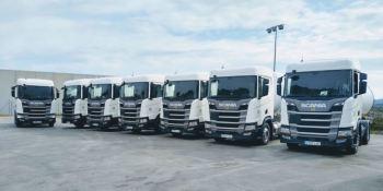 El Grupo HAM sigue apostando por Scania con 11 nuevos camiones a GNL