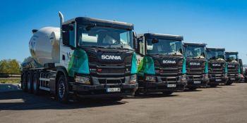Hormigoneras de gas, una realidad de la mano de Scania.