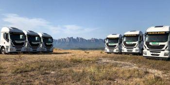 ILUNION suma a su flota 6 camiones IVECO a GNV para Taxileón
