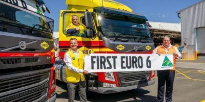 Los primeros motores Volvo FM Euro 6 salen de la fábrica de Volvo Group Australia