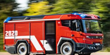 Los revolucionarios camiones eléctricos de bomberos Volvo Penta están en camino a los clientes