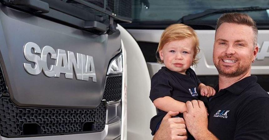 Los reyes del camino en Australia con Scania. Fotos