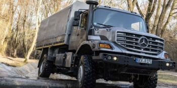 """Mercedes-Benz Zetros, calidad """"made in Germany""""."""