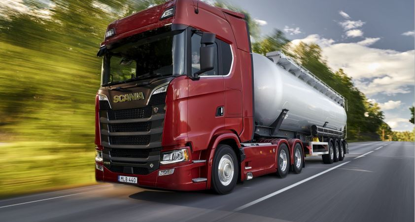 Scania también ha presentado hoy una nueva gama del cambio Opticruise. Fotos