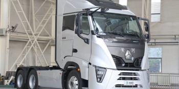 Sinotruck presenta el Huanghe X7 con las nuevas normas de la Unión Europea