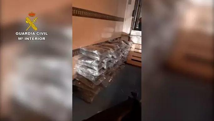A prisión un camionero detenido con 91 kg de marihuana
