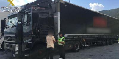 Investigado un camionero que septuplicaba la tasa de alcoholemia