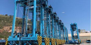 APM Terminals Barcelona implementa un nuevo sistema de gestión de flotas con pesaje automático