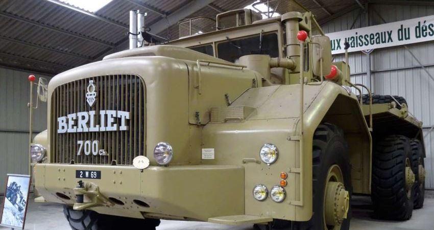 Historia de los camiones y autobuses Berliet. Fotos