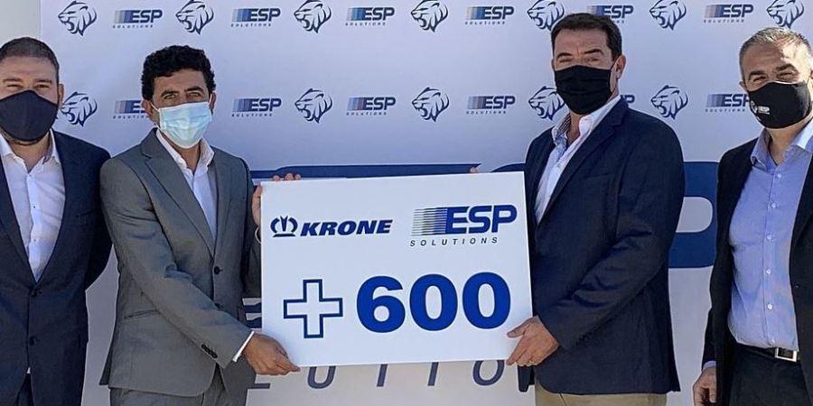 Para el transporte profesional de flores: 250 Krone Cool Liner para ESP Solutions
