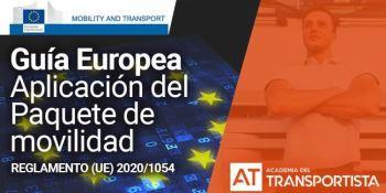 """Guía práctica del """"Paquete de Movilidad Europeo del Transporte"""""""