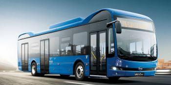 100 autobuses eléctricos de BYD para Turin GTT