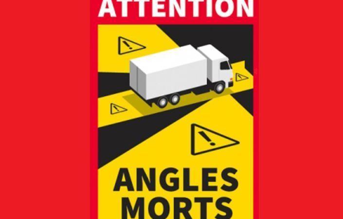 Aprobado el Decreto francés que regula las señales de ángulos muertos en camiones y autobuses