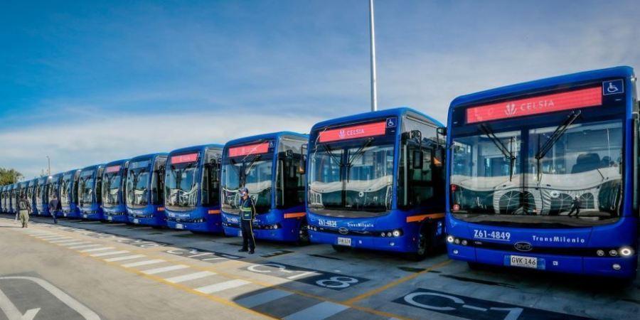 BYD entrega la flota de autobuses eléctricos más grande de Colombia