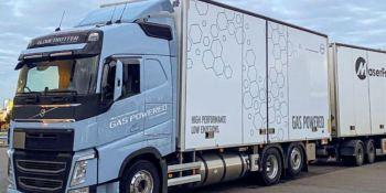 El Grupo Logístico MasterFrakt prueba con éxito camiones a biogás
