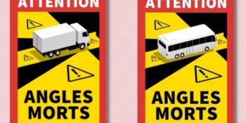 Francia no multará durante 3 meses por no llevar las señales de ángulos muertos