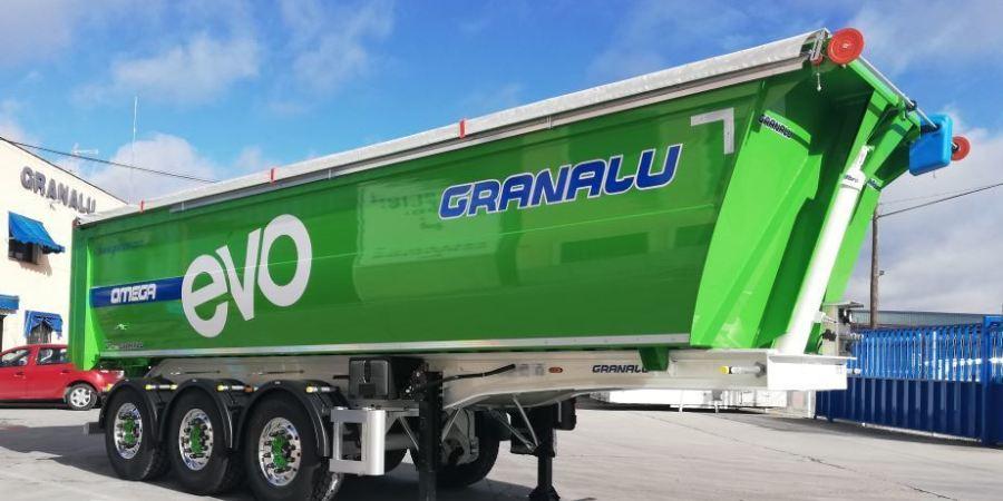 GRANALU líder en 2020 en la venta de semirremolques de aluminio