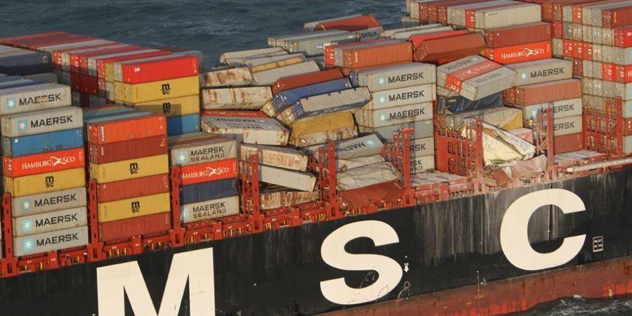 La naviera MSC paga 3,4 millones por los daños causados por el desastre del MSC Zoe