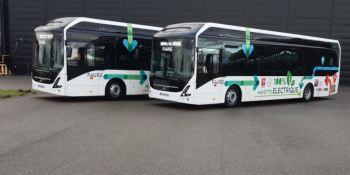 Los autobuses en los inter-centros de Renault Trucks son totalmente eléctricos