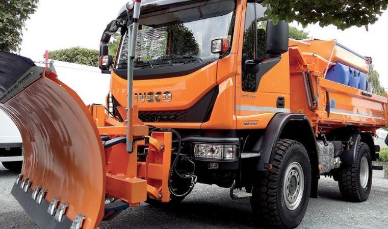 Los vehículos industriales Iveco han sido claves durante la gran nevada