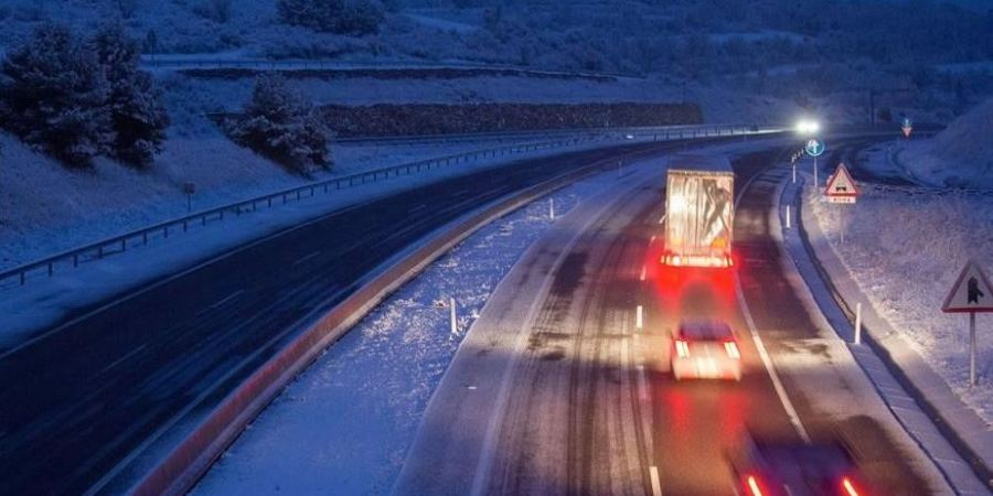 Restablecida la circulación de camiones en la AP-7, AP-2, C-25 y A-2 en Cataluña