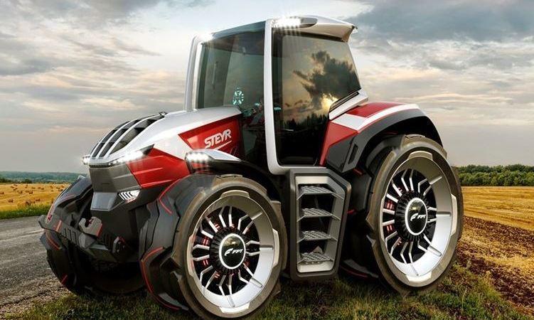 STEYR celebra el éxito del tractor Konzept en los premios de diseño 2020