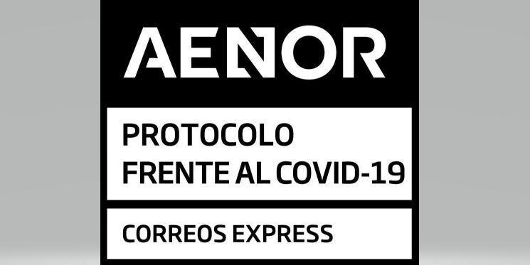 Correos Express obtiene la certificación de AENOR por su protocolo frente a la Covid-19