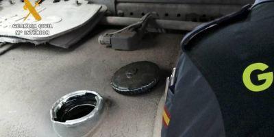 Detenido por robar en una noche 1.500 litros de gasoil de camiones