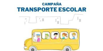 Campaña especial de vigilancia de los vehículos de transporte escolar