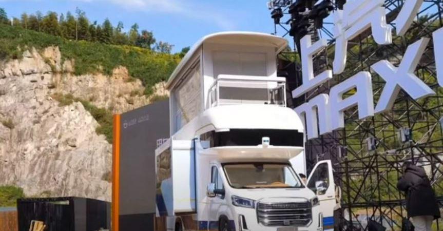 Una autocaravana de más de 30 metros cuadrados y con ascensor