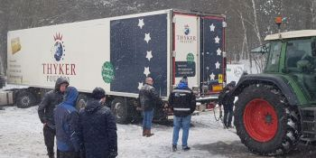 Una fuerte tormenta de nieve paraliza los Países Bajos