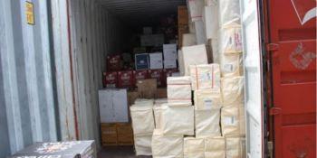 Uso ilícito del transporte en contenedores para el comercio de artículos falsificados