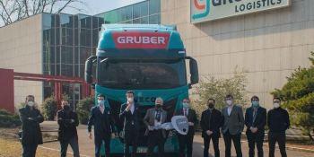 IVECO suministrará 100 camiones S-Way GNL a Gruber Logistics