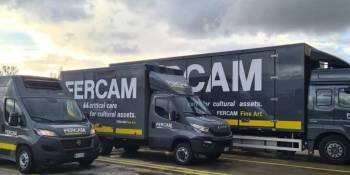 FERCAM transportó un importante cuadro desde Milán hasta Siberia