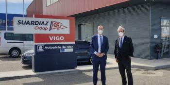 Usarán el GNL para descarbonizar la Autopista del Mar del Puerto de Vigo