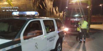 Instruidas diligencias judiciales contra un camionero ebrio