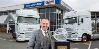 DAF nombra a Lawrence Vehicles Ltd concesionario internacional del año 2021