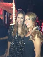 Con Helen lindes en evento SMODA