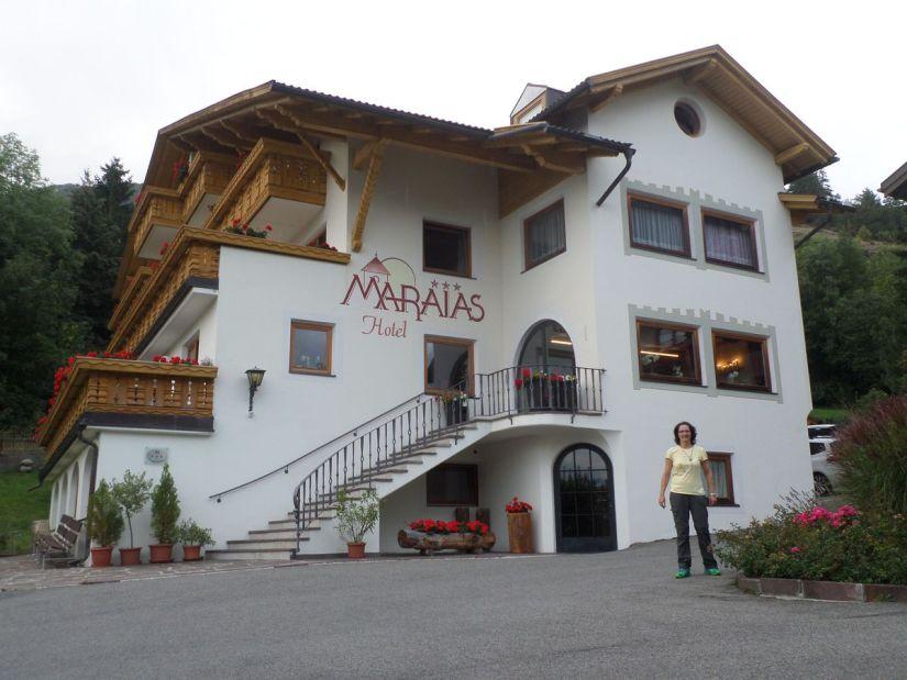 Hotel Maraias a Burgusio in Val Venosta