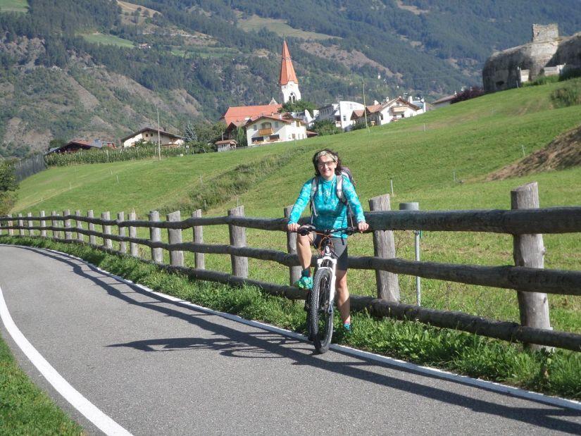 pista ciclabile della Val Venosta