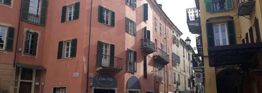 geocaching a Mondovì: piazzetta G. Antonio Comino